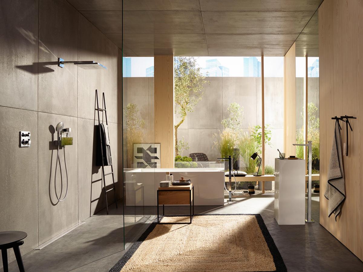 mediterranes badezimmer gestalten tipps ideen hansgrohe de. Black Bedroom Furniture Sets. Home Design Ideas
